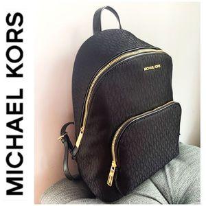 NWT authentic MK monogram backpack black